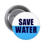 BIG_BUTTON ahorran el agua Pins