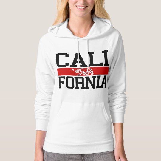 BIG California State Flag Design Hoodie