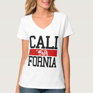 BIG California State Flag Design T-Shirt