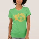 Big Camera Photography T-Shirt