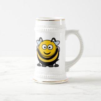 Big Cartoon Bumble Bee Beer Stein
