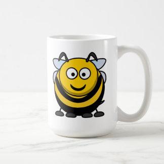 Big Cartoon Bumble Bee Coffee Mug