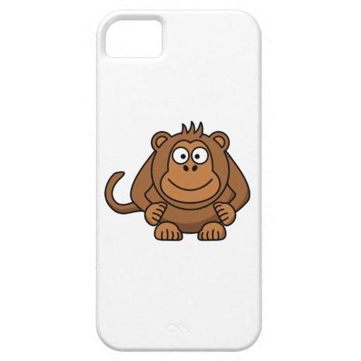 Big Cartoon Monkey iPhone 5 Covers