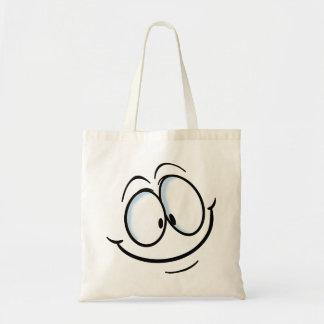 Big Cartoon Smile 2 Tote Bag