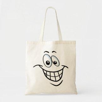 Big Cartoon Smile Tote Bag