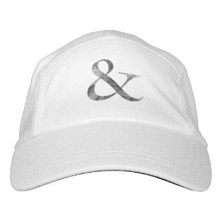 Big Caslon Medium Black Letterpress Grain Headsweats Hat