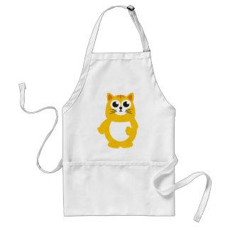 Big cat adult apron