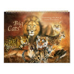 Big Cat Art Calendar
