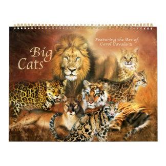 Big Cat Art Calendar 2016