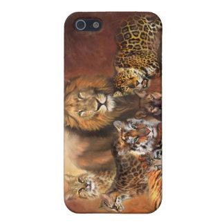 Big Cat Art Case for iPhone 4
