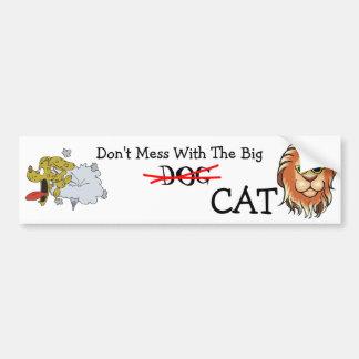 Big Cat Bumper Sticker