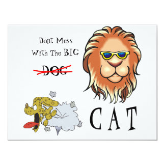 Big Cat Card