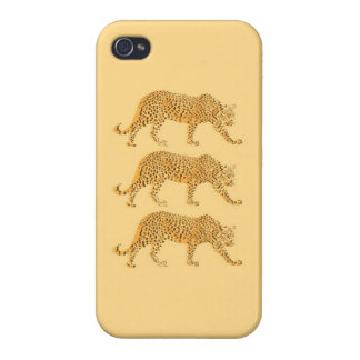 Big Cat Cool Leopards Picture Covers For iPhone 4