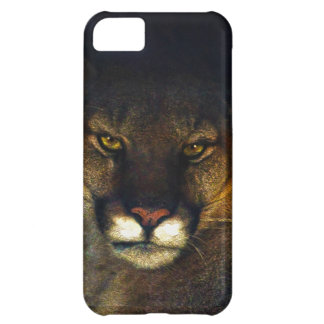 Big Cat Cougar Mountain Lion Art Design iPhone 5C Cover