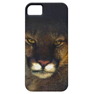 Big Cat Cougar Mountain Lion Art Design iPhone SE/5/5s Case