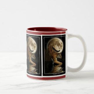 BIG CAT Hunting Tiger Wildlife Drinkware Mug