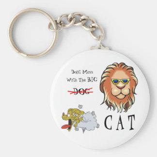 Big Cat Keychain