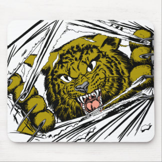 Big Cat Ripping Mouse Pad