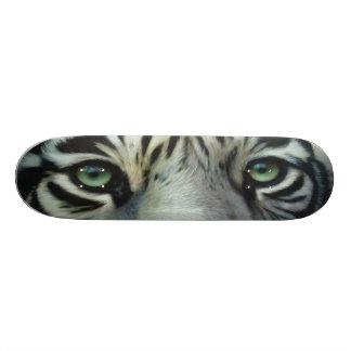 BIG CAT SKATEBOARD-2 Cool Cat-White Tiger! Skateboard