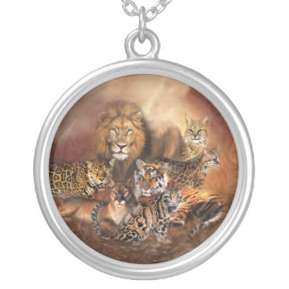 Big Cat Wearable Art Necklace