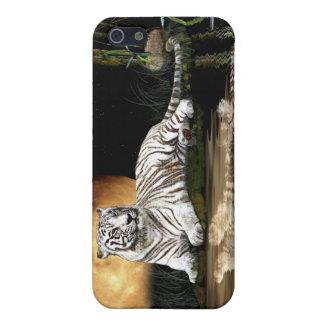 Big Cat White Bengal Tiger iPhone Case