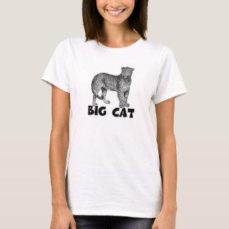 Big Cat Women's Hanes ComfortSoft® T-Shirt White