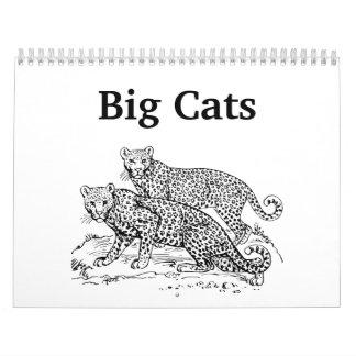 Big Cats 2014 Calendar
