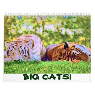 BIG CATS! 2017 Calendar