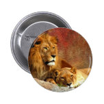 Big Cats - 6 2 Inch Round Button
