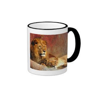 Big Cats - 6 Ringer Coffee Mug