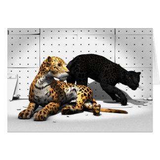 Big Cats - Leopards Card