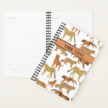 "Big Cats Personalized Planner<br><div class=""desc"">Tigers,  leopards,  jaguars and cheetahs with your title.</div>"