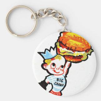 Big Champ Hamburgers Keychain