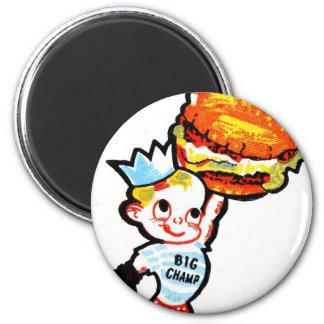 Big Champ Hamburgers Magnet