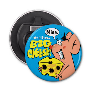 Big Cheese And Mouse Bottle Opener