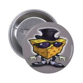 Big Cheese 2 Inch Round Button