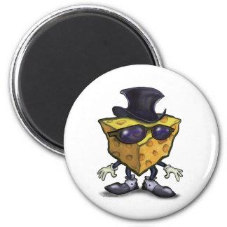 Big Cheese 2 Inch Round Magnet
