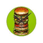 Big Cheeseburger Wallclock