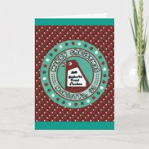 Big Chicken Christmas Card