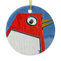 Big Chicken, Marietta, Georgia, Christmas Ceramic Ornament