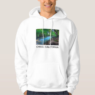 Big Chico Creek, Chico, California Hoodie