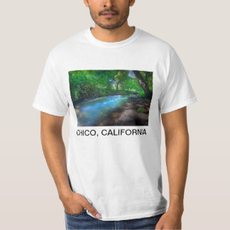 Big Chico Creek, Chico, California Tees