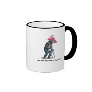 Big Chimp Ringer Coffee Mug