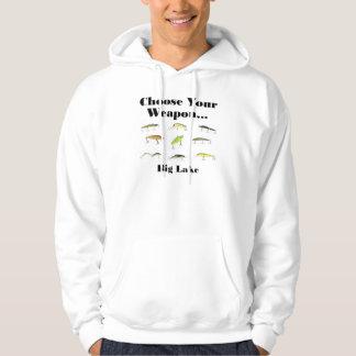 big choose weapon hoodie