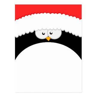 Big Christmas Penguin Postcard