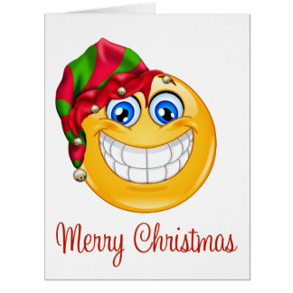 BIG Christmas Smile Greeting Card - SRF