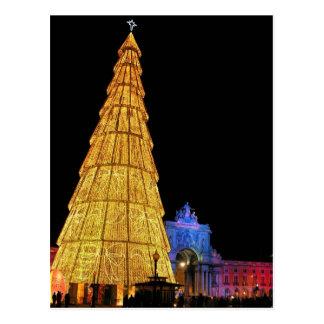 Big Christmas Tree from Europe Postcard