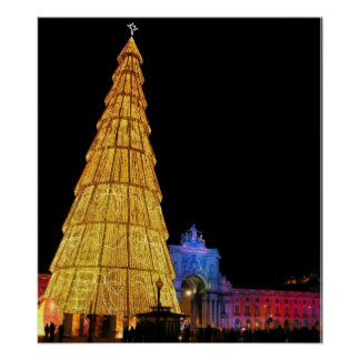 Big Christmas Tree from Europe Poster