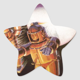 Big Chunky Spacesuits Star Sticker
