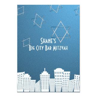 Big City Bar Mitzvah Card